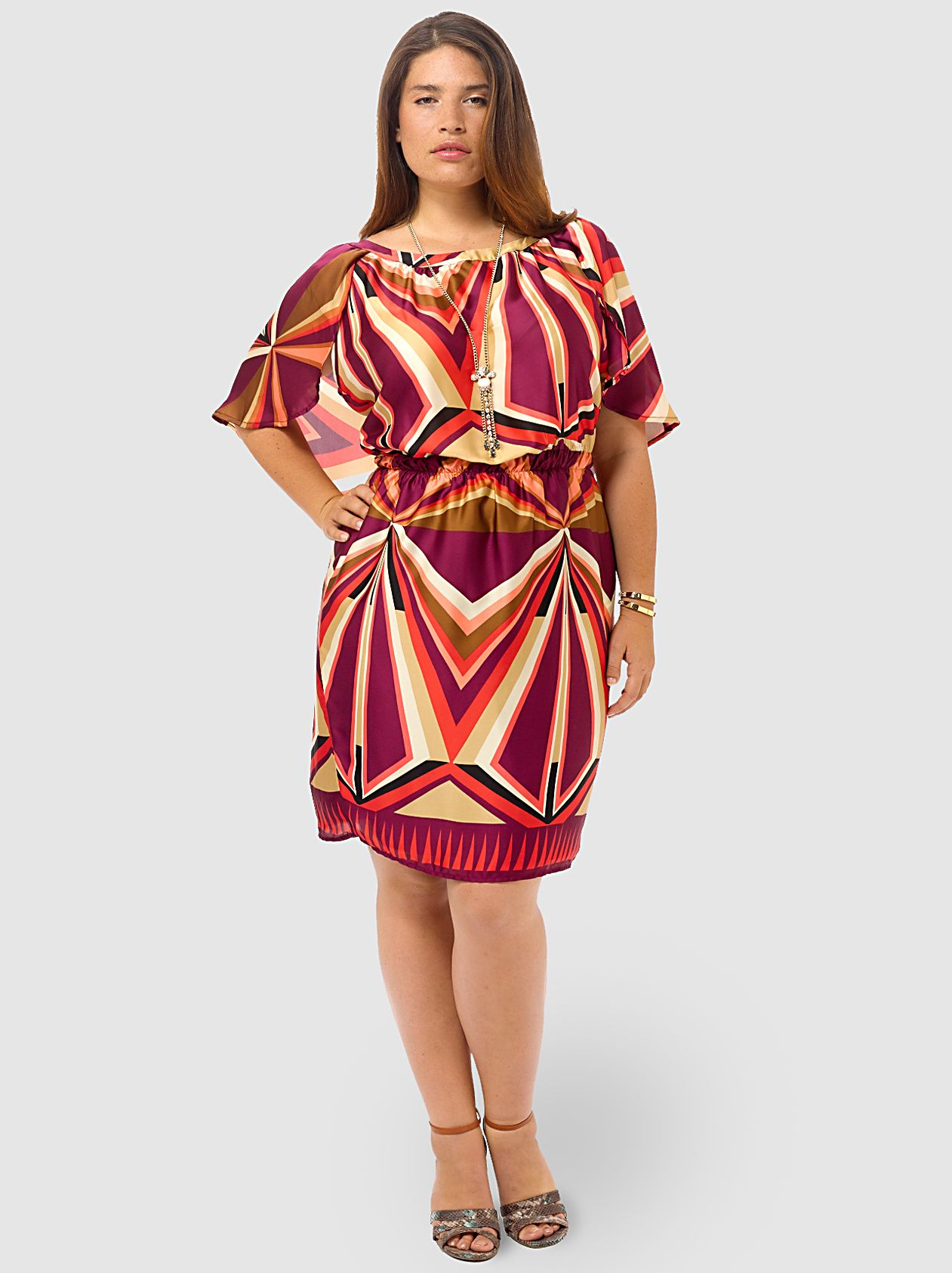 Plum pinwheel cape dress by mmavailable in sizes xlxxx and