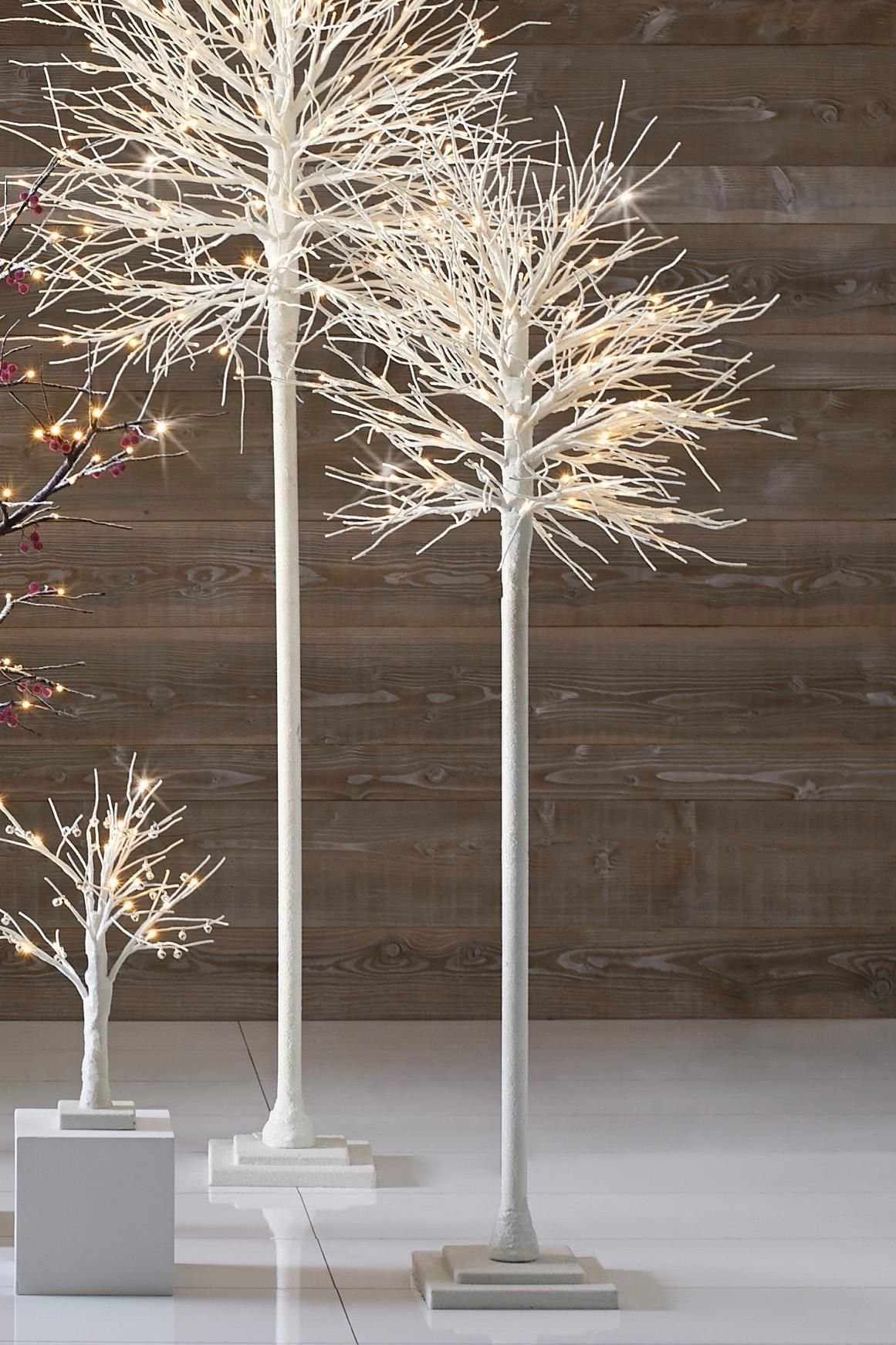 contemporary Lit White Christmas Tree from the Next UK