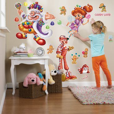 Candyland wall decorations. Incorporate somehow? | Candyland Party ...