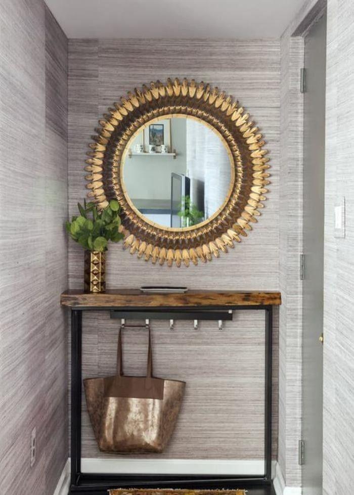 Quel miroir d\u0027 entrée choisir pour son intérieur - jolies idées en - choisir une porte d entree