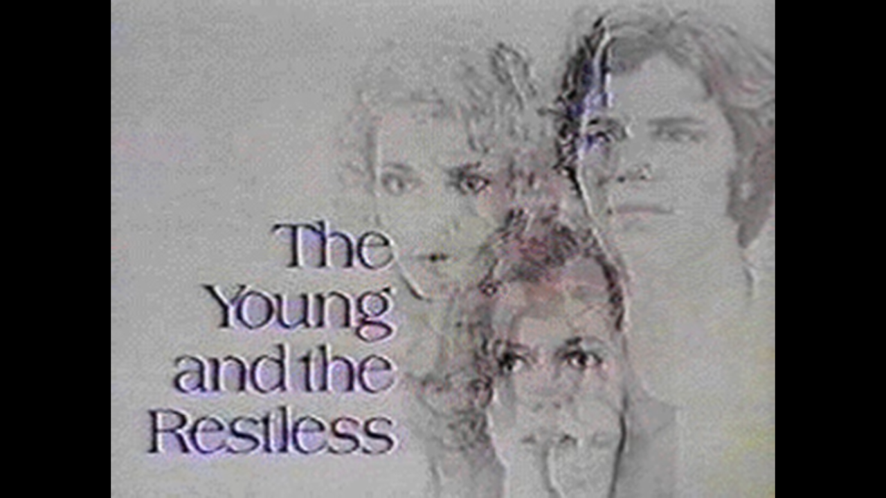 Opening credits from the EARLY days of The Young and The