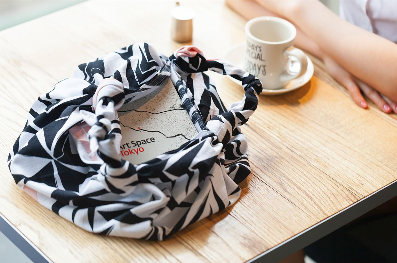 Angles Furoshiki Bag by Link Collective