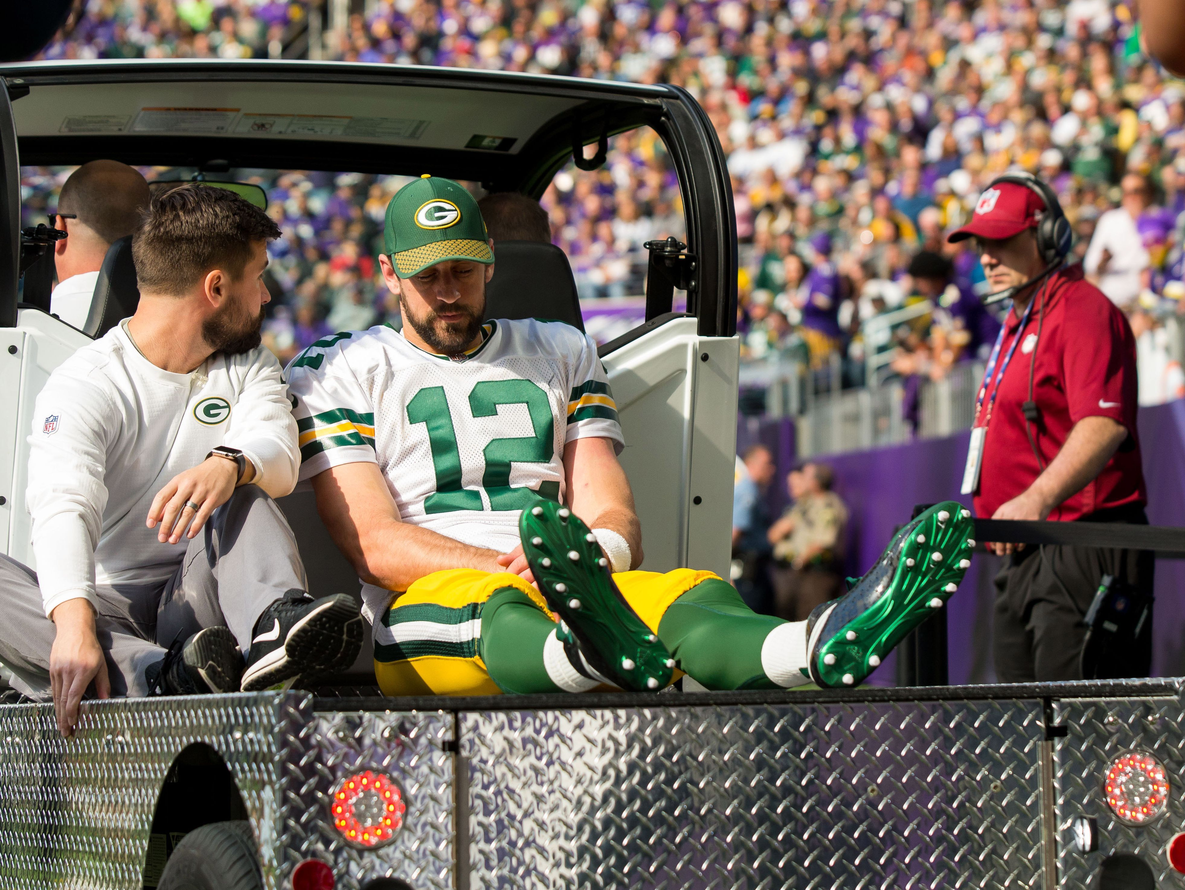 Aaron Rodgers Could Miss Rest Of Packers Season With Broken Collarbone Aaron Rodgers Fantasy Football Shirt Packers Season
