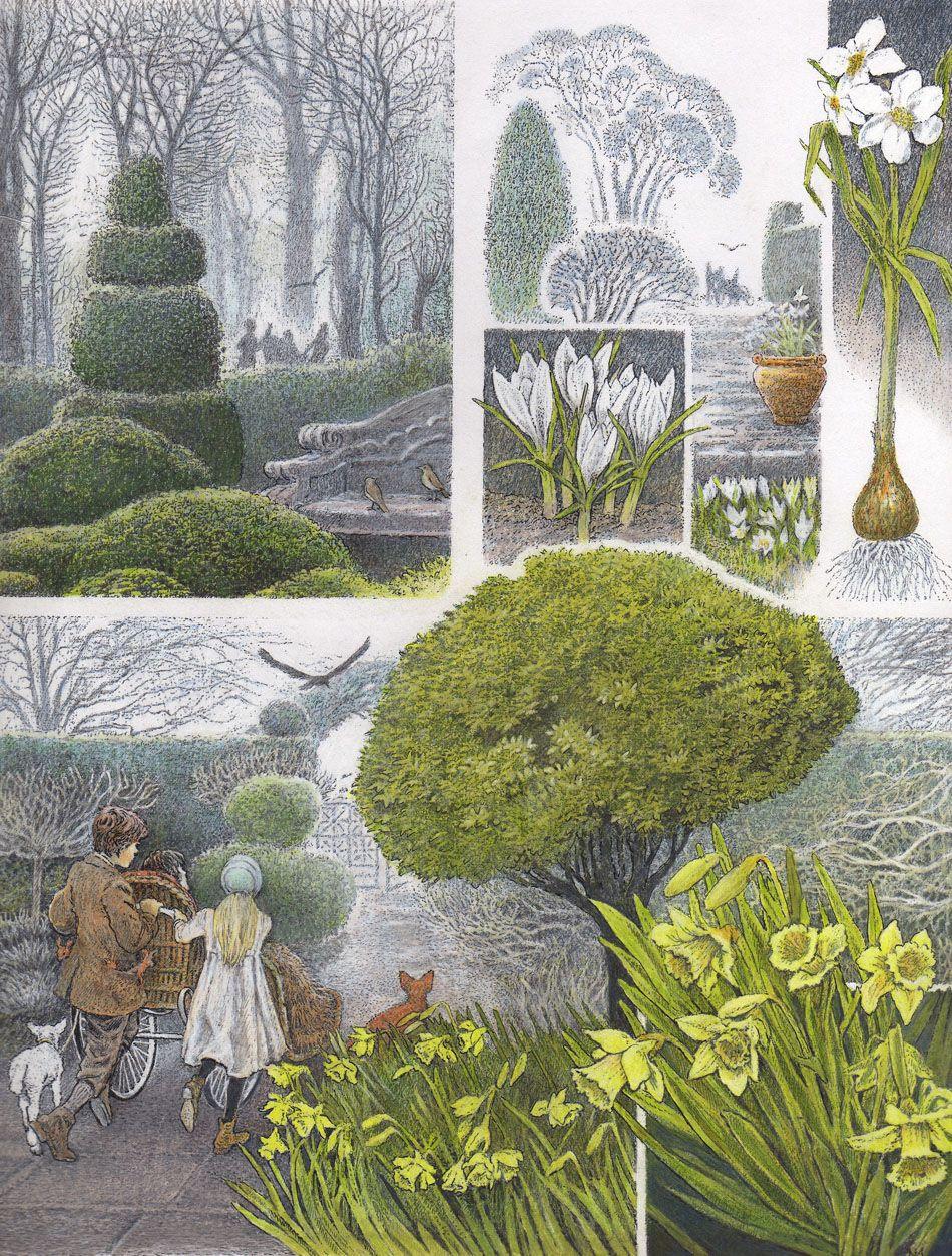 """The Secret Garden"" illustrated by Inga Moore Garden"