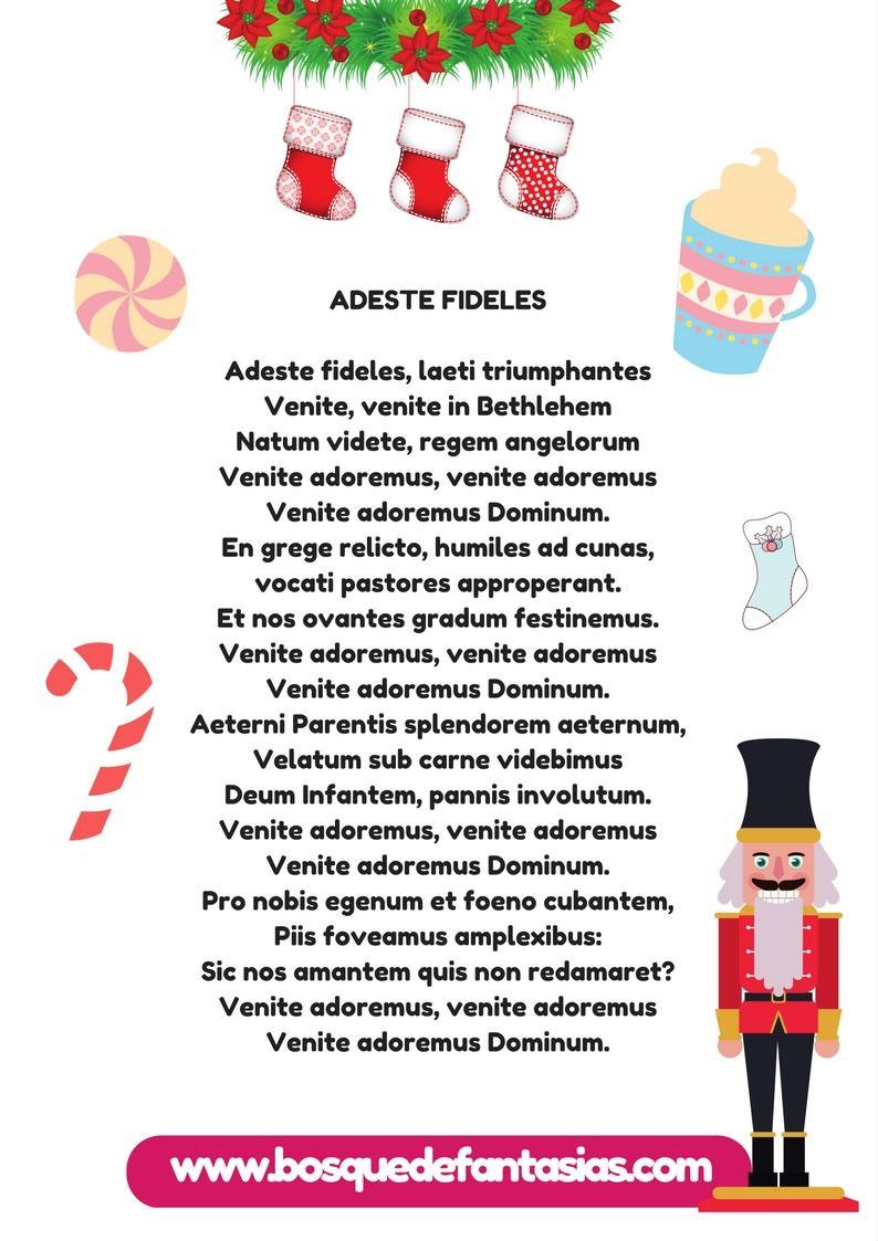 Cuaderno De Villancicos Y Canciones De Navidad Para Niños Cancion De Navidad Villancico Villancicos Navideños