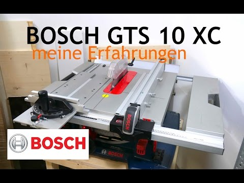 6 Bosch Gts 10 Xc Professional Review Deutsch German Youtube Bosch Gts 10 Xc Holzfrasen Bosch