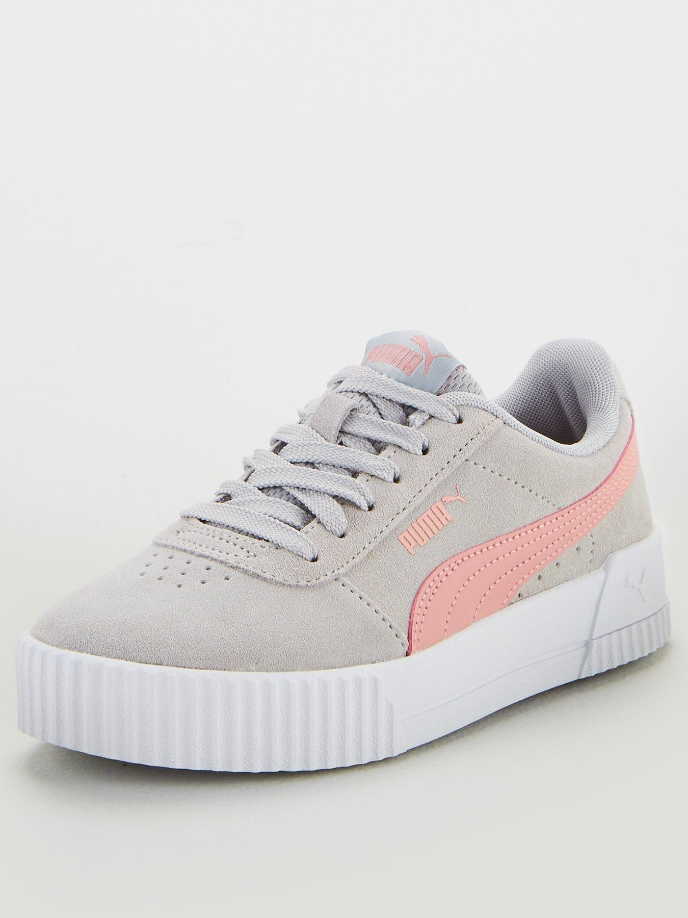 Carina Junior Trainers GreyPink | Trainers, Pumas shoes