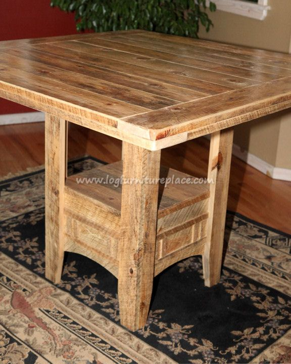 Rustic Pub Table More Photos Of Rustic Furniture And Decor At  Http://coastersfurniture · Shabby Chic ...