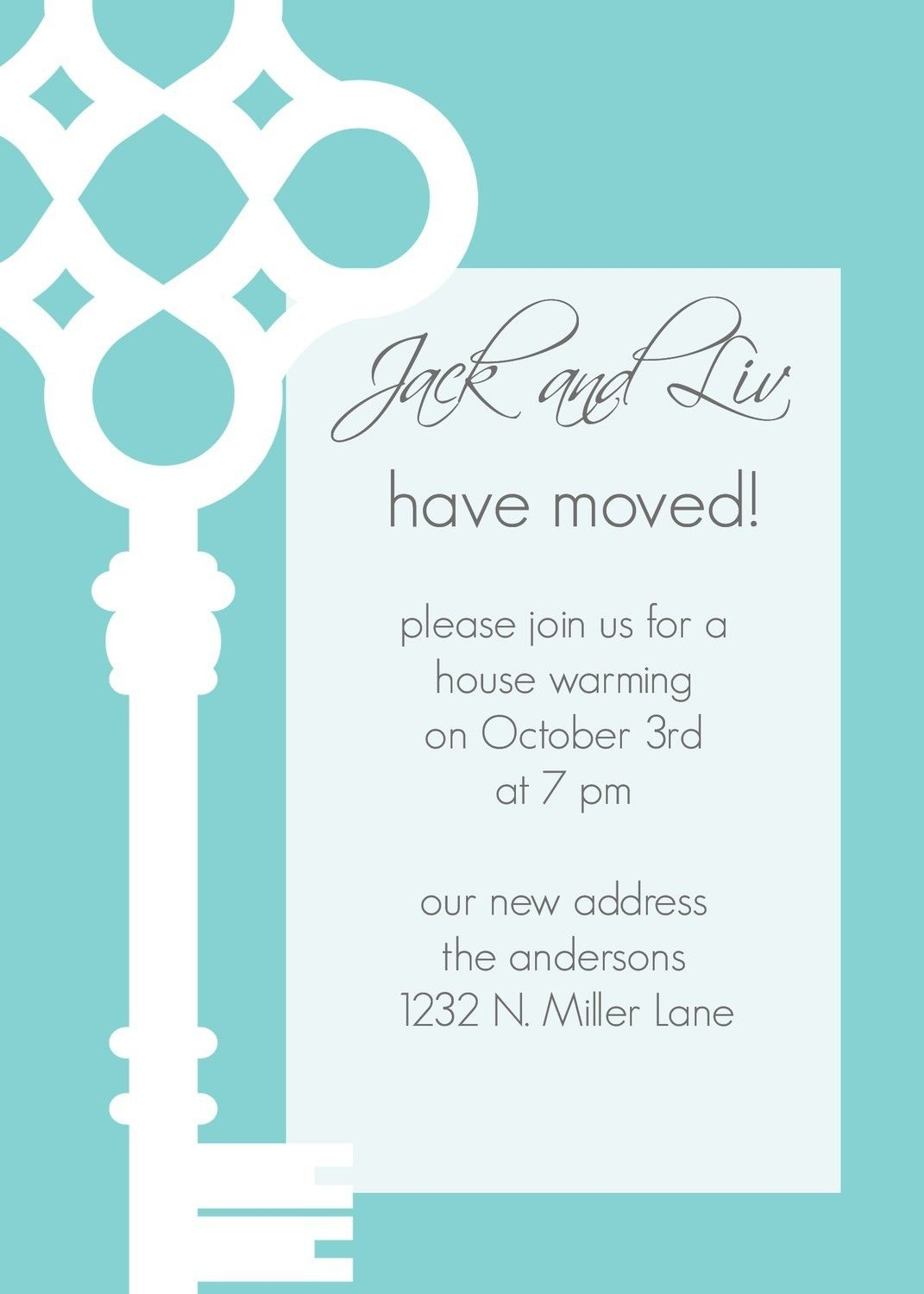 love the bold graphic! JackandLiv- Custom Key Moving Annoucement ...