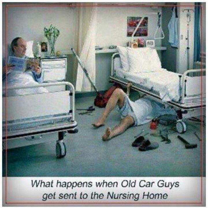 Old Car Guys%)   RN God\'s angel on earth   Pinterest   Car jokes ...