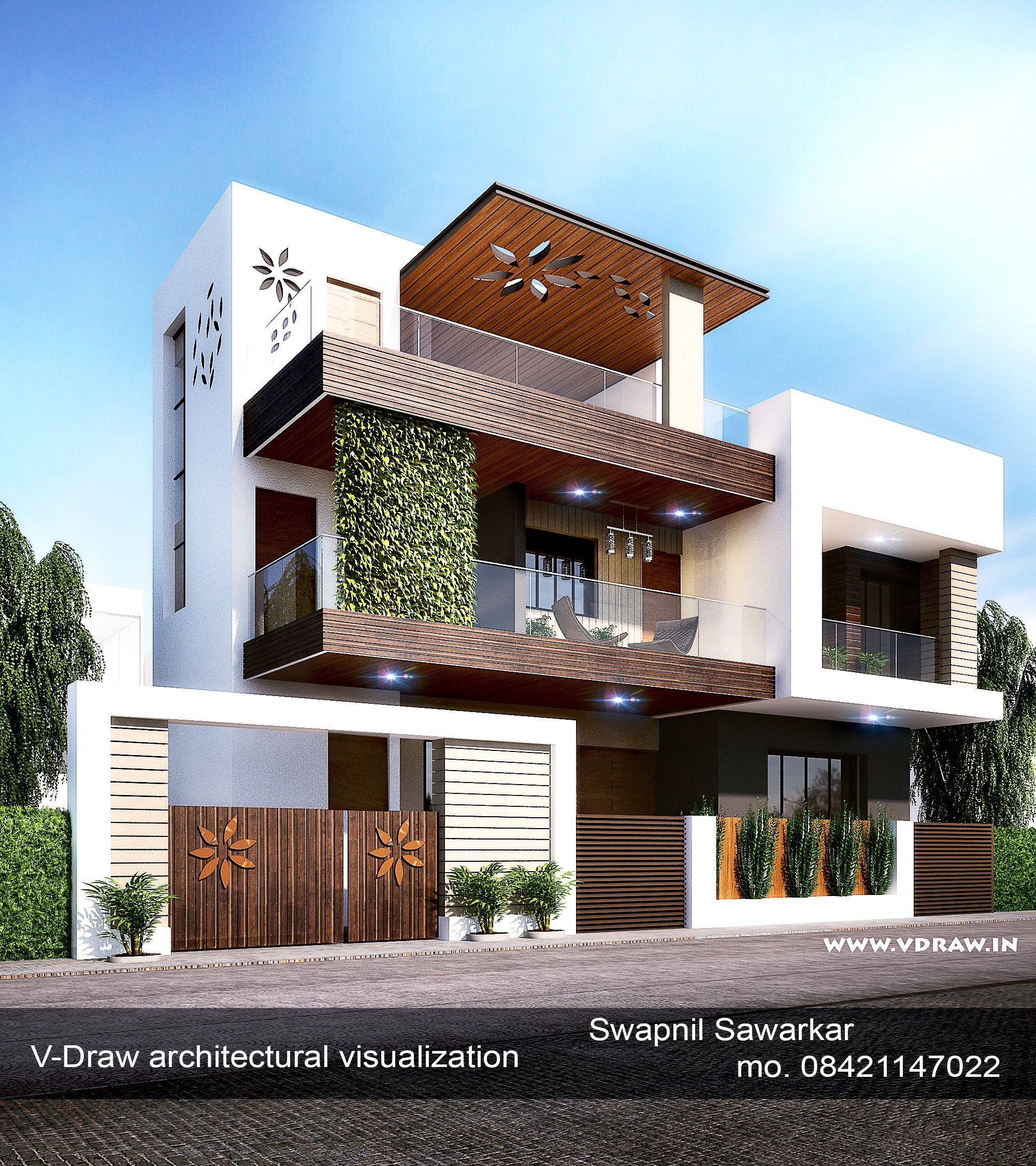 Modern House Design Duplex House Design Kerala House Design