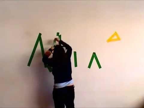 Homenatge a ITIOPIA i l'Amhàric - http://martadarder.com/homenatge-a-itiopia-i-lamharic/  -  Homenatge a ITIOPIA i l'Amhàric. Acció dibuix amb cinta adhesiva d'un paisatge abstracte amb les lletres de l'amhàric escrivint Itopia, Etiòpia en amhàric. Les lletres del nom Itopia dibuixen un paisatge possible imaginat que ens pot transportar al territori del país al que rep...