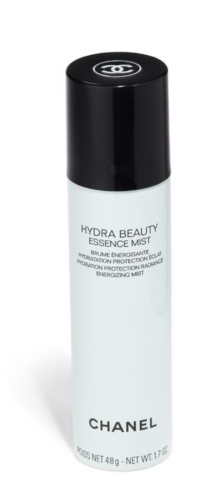 For extra moisture-binding skin mist. Chanel Hydra Beauty Essence Mist
