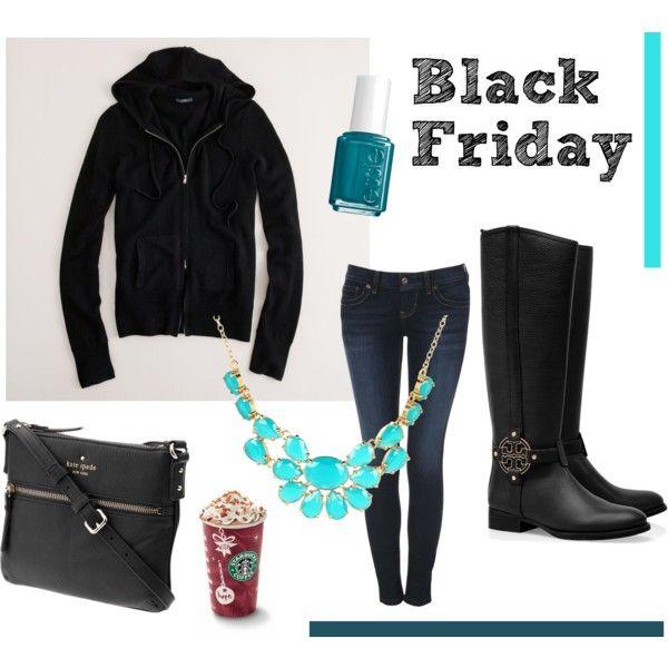 Black Friday outfit! #fridaysfancies #outfit #jcrew #katespade