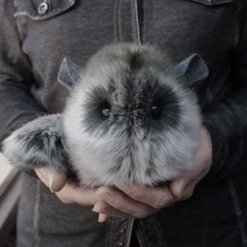 Super Fluffy Chinchilla Plush At Shanalogic Com Cute Chinchilla Animal 22 00 Chinchilla Animaux En Chaussette Animaux Droles