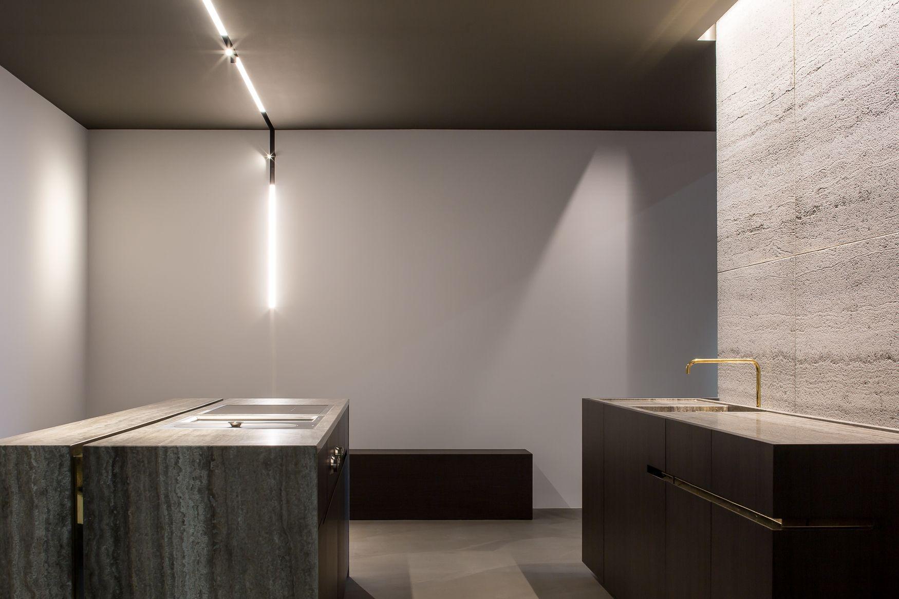 Realisaties natuursteen hullebusch kleur muren