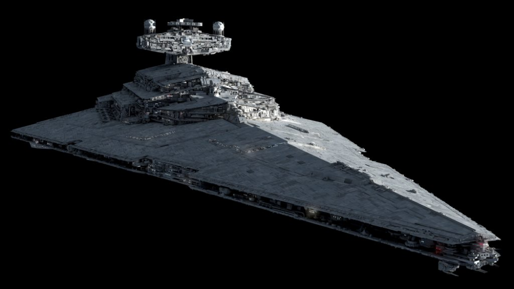 Imperator Class Star Destroyer Redux By Fractalsponge Ansel Hsiao Imperial Star Destroyers Star Destroyer Star Wars Ships