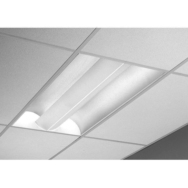 Lightolier Qvs2gptos232 2 X 4 Alter Metalyte Direct Indirect