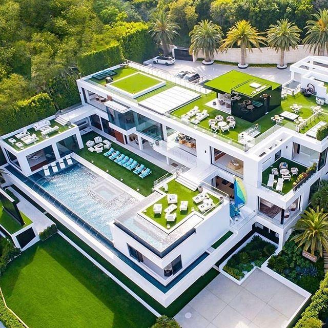 Instagram Mansions Dream House Exterior Billionaire Homes