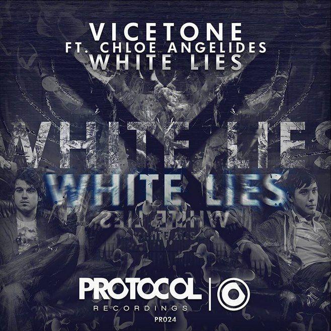 Vicetone, Chloe Angelides – White Lies (single cover art)