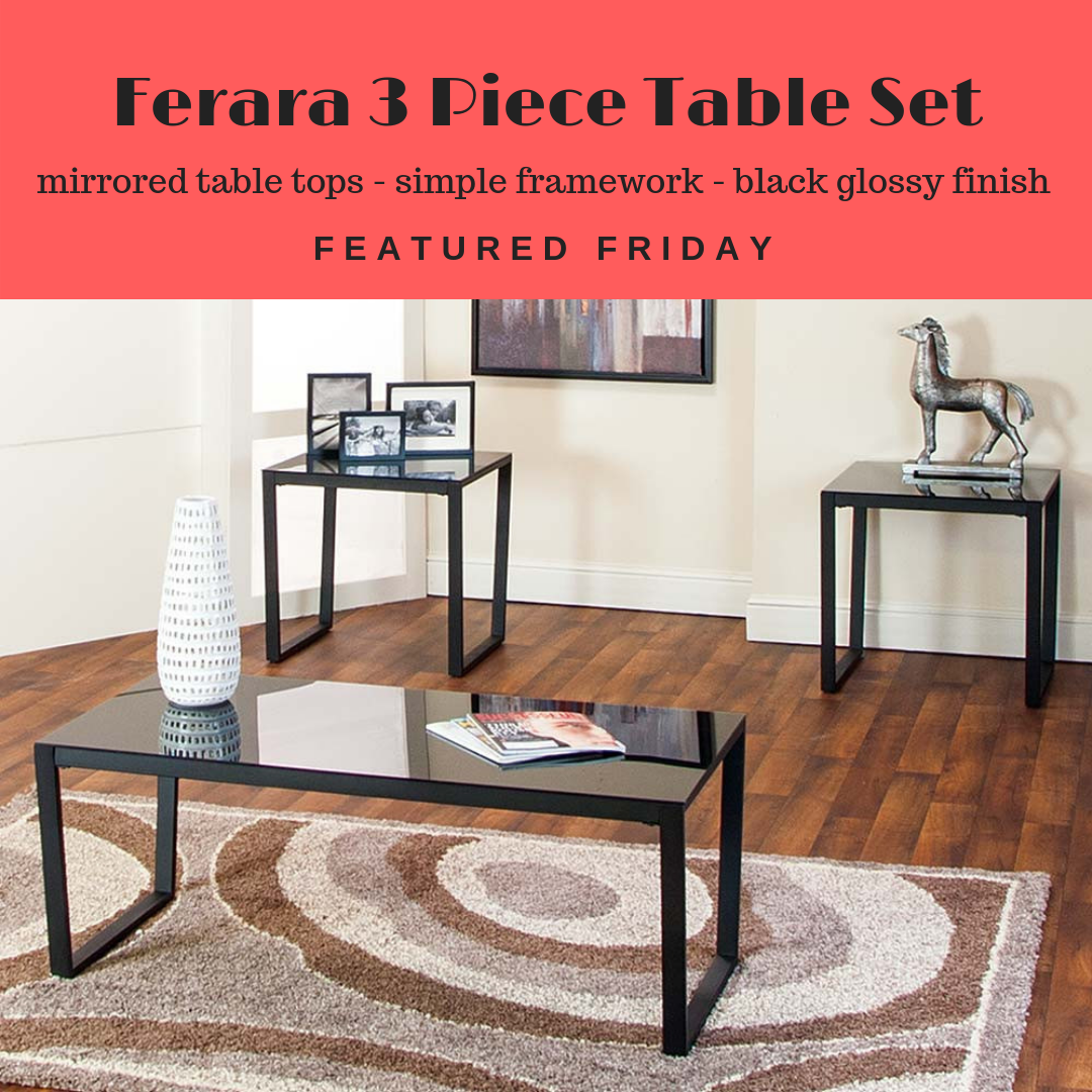 The Ferara Is High Gloss And Fabulous American Freight Blog Living Room Table Sets Upcoming Interior Design Trends Furniture [ 1080 x 1080 Pixel ]