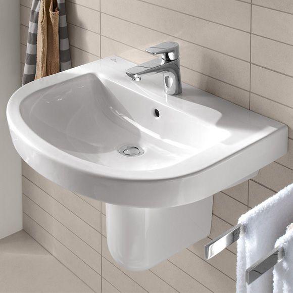 Villeroy  Boch Subway 20 Der Waschtisch ist mit der CeramicPlus - lampen fürs badezimmer