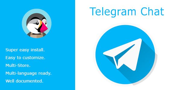 Telegram Chat - Live chat with your customers | Code-Scripts
