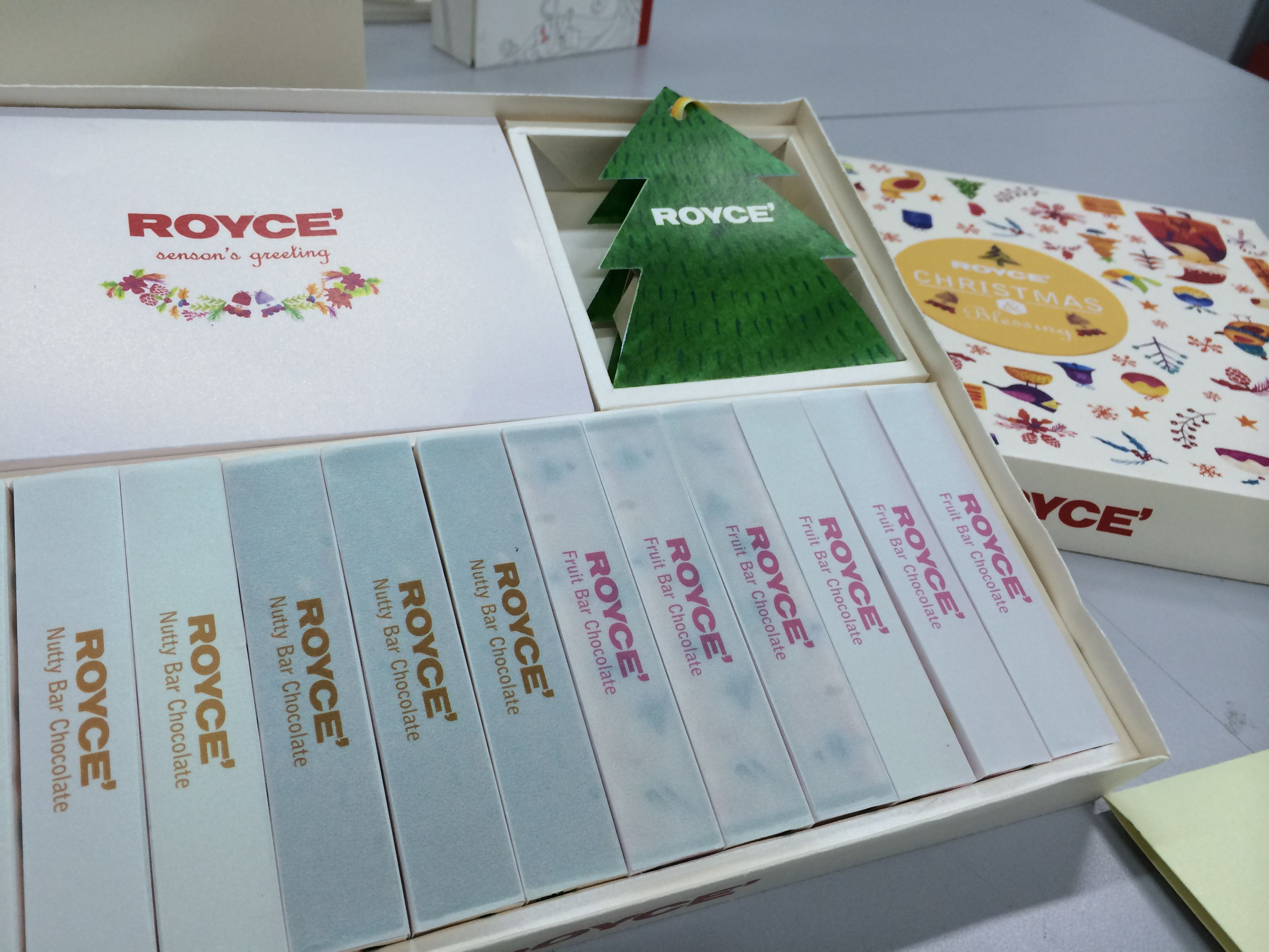 Royce chocolate christmas limited product   PACKAGING DESIGN ROYCE ...