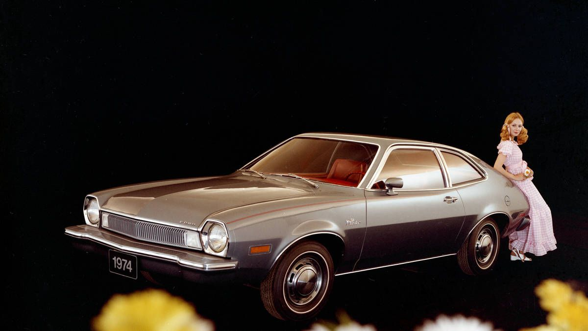 Diminutive import cars were a growing market moving into the '70s, and yet the smallest car in the North American Ford lineup was the Maverick. Enter the Pinto. Lee Iacocca's design ...