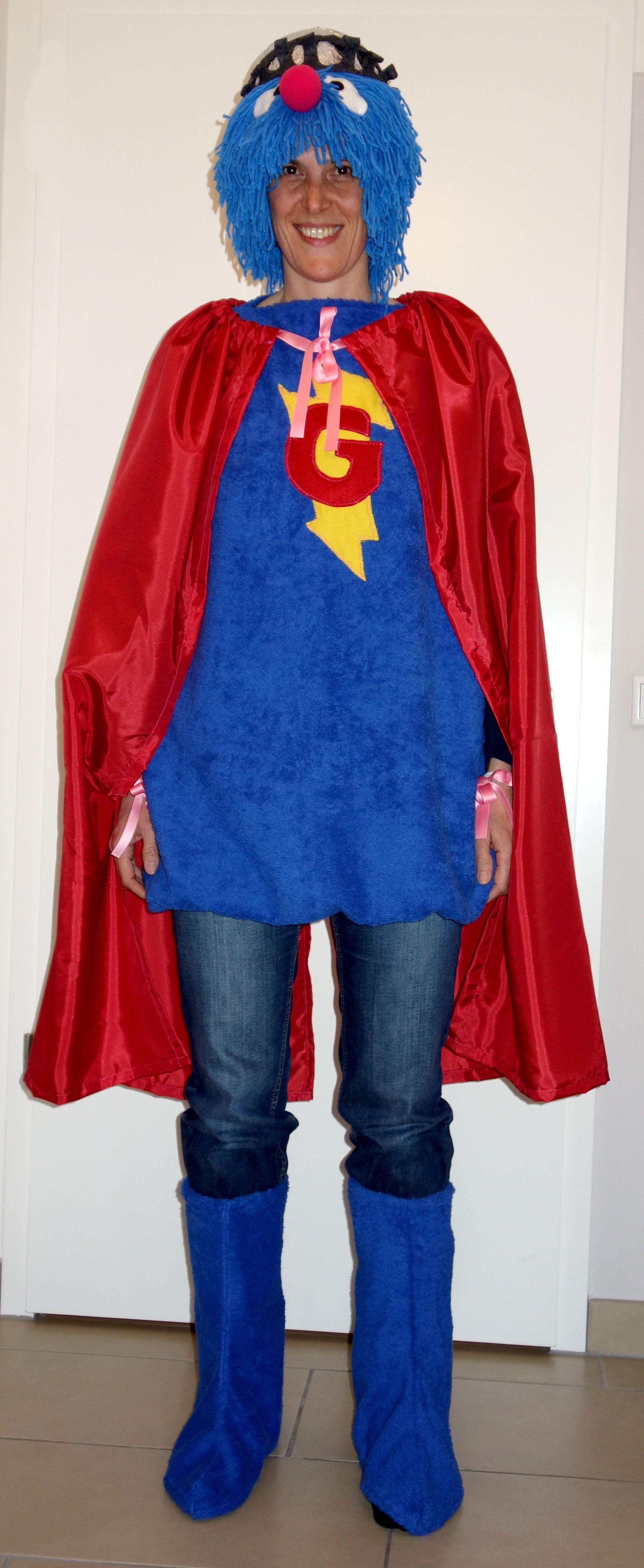 Super- Grobi Kostüm 2017 | Sesamstrasse | Pinterest | Super und Kostüm