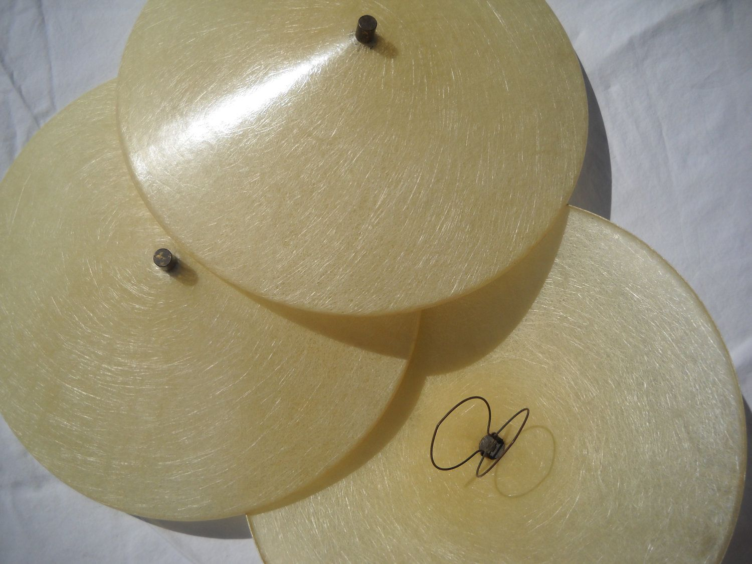 Mid century fiberglass clip on ceiling light shade china mans hat mid century fiberglass clip on ceiling light shade china mans hat only 1 left mozeypictures Image collections