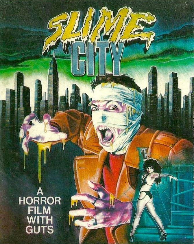 Slime City : slime, Slime, (1988), Horror, Posters,, Movie, Covers