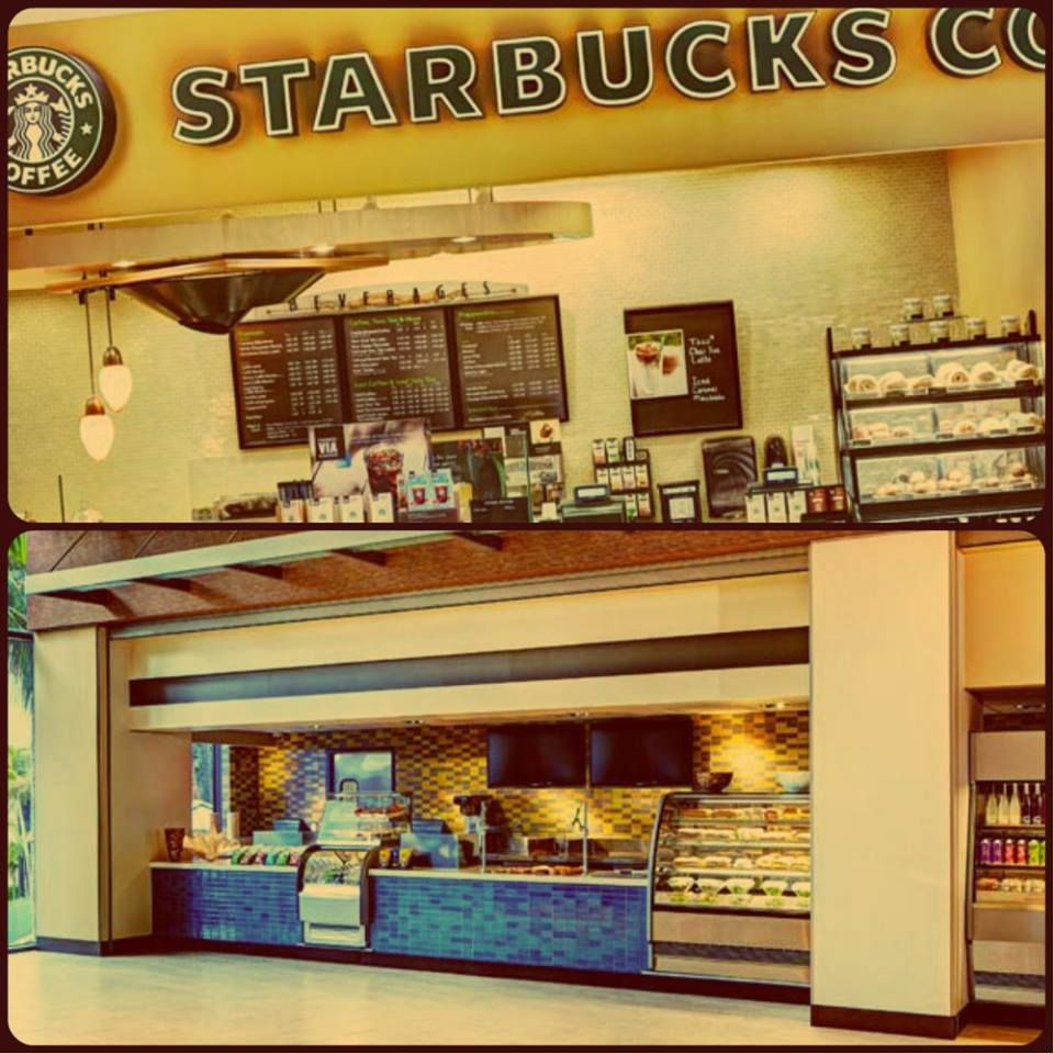 On your way out? Grab food and drinks at our #Starbucks or Exchange. #sandiego