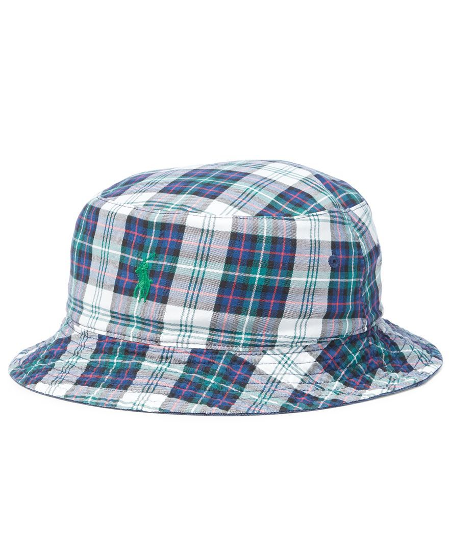 ac4b824e933 Polo Ralph Lauren Men s Big  amp  Tall Cotton Reversible Bucket Hat Ralph  Lauren Bucket Hat