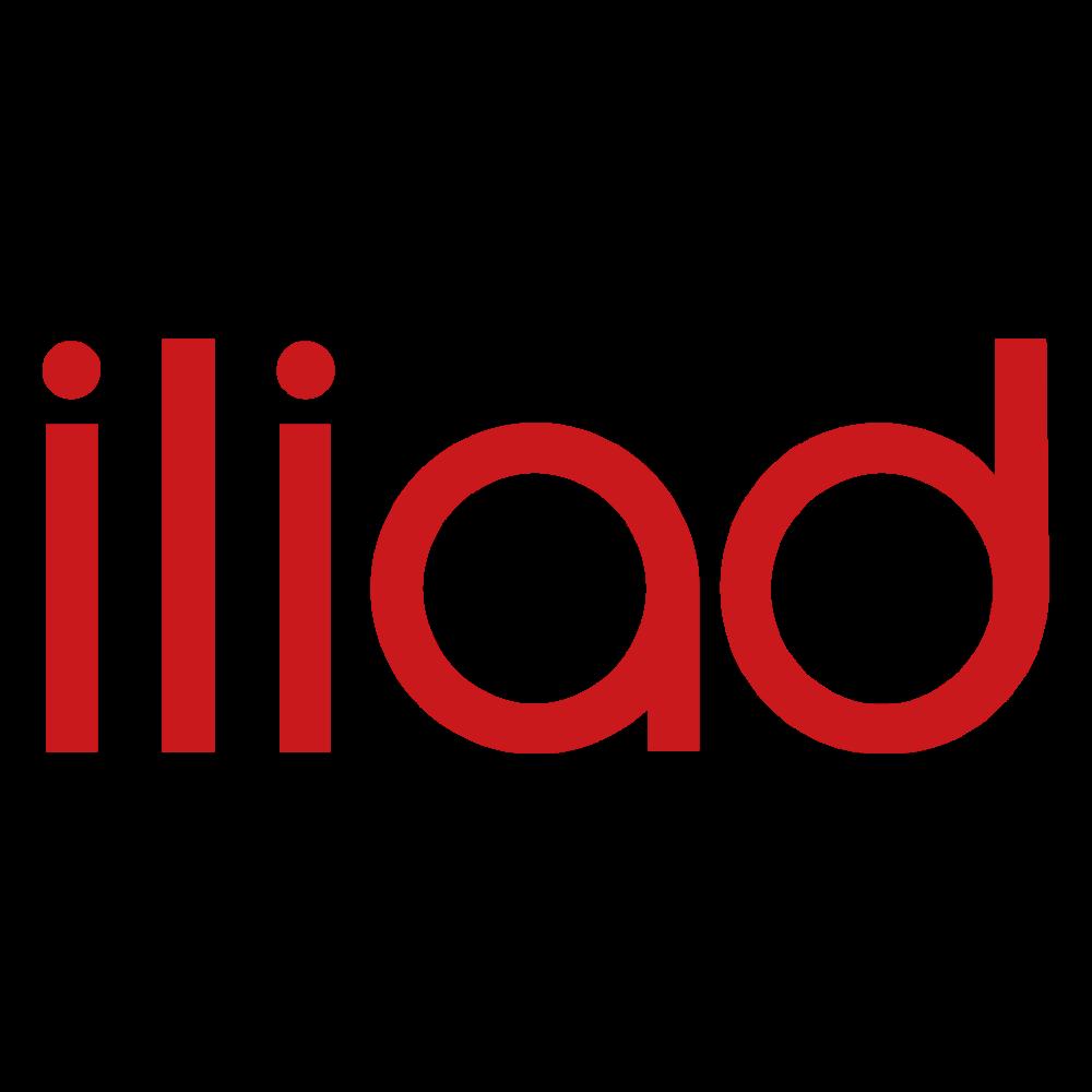 Iliad Logo In 2020 Logos Mobile Logo Vector Logo