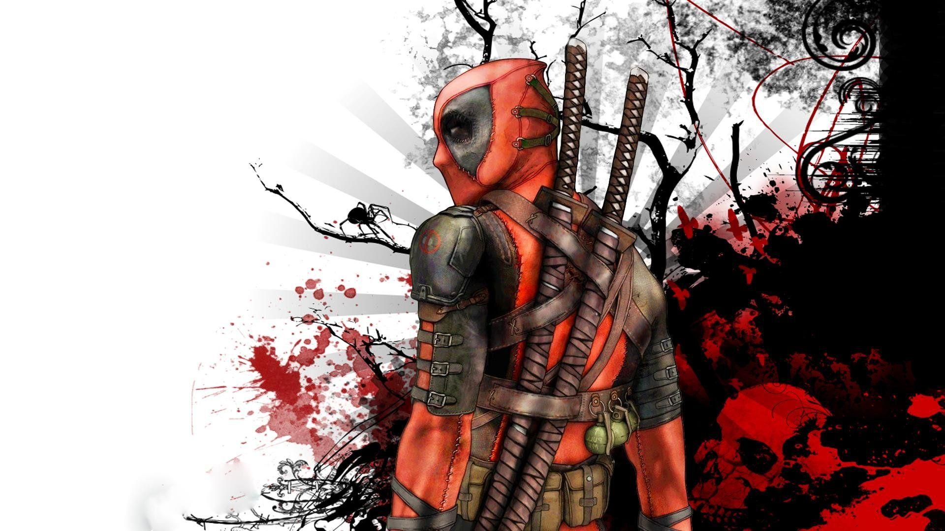 1000 Ideas About Deadpool Hd Wallpaper On Pinterest: Deadpool HD Wallpapers Backgrounds Wallpaper