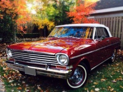 1962 Chevrolet Nova 400 Convertible