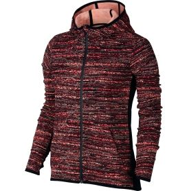 04347f509583 Nike Women s Therma All Time Tech Static Full Zip Hoodie