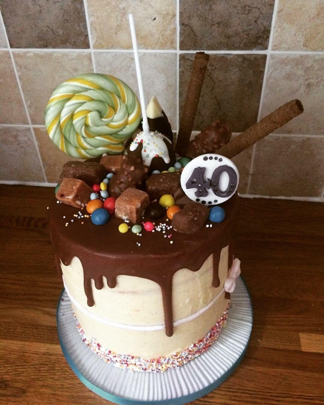 Drip cake lollipops cake drip cakes baking