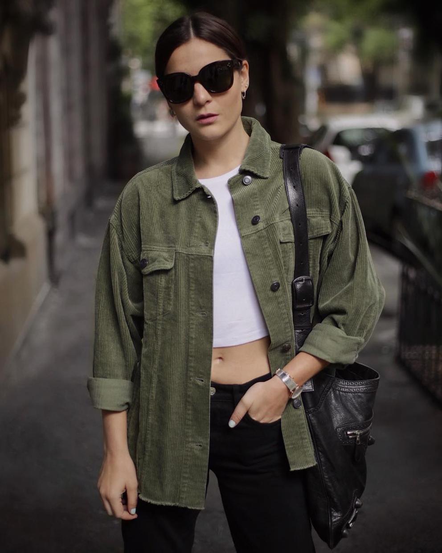 Chamarra de Pana | clothing. | Chaqueta de pana, Trajes de