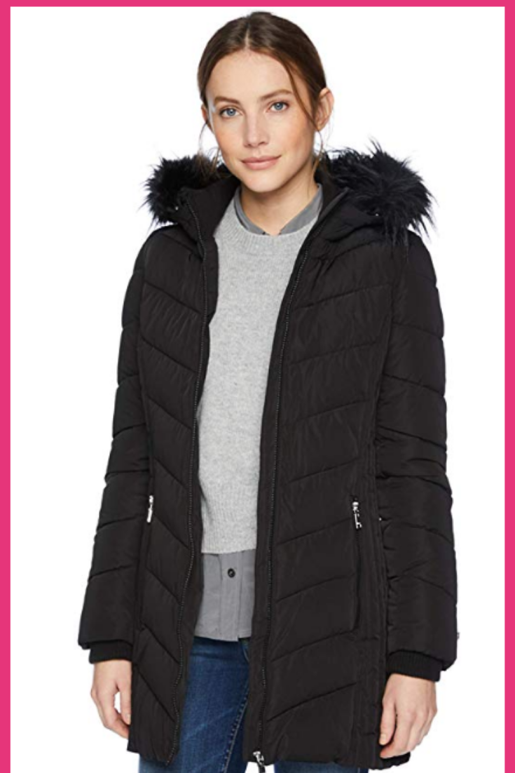 Best Chevron Down Coat Fur Hood Jacket Tommy Hilfiger Winter Jacket Tommy Hilfiger Women [ 1102 x 735 Pixel ]