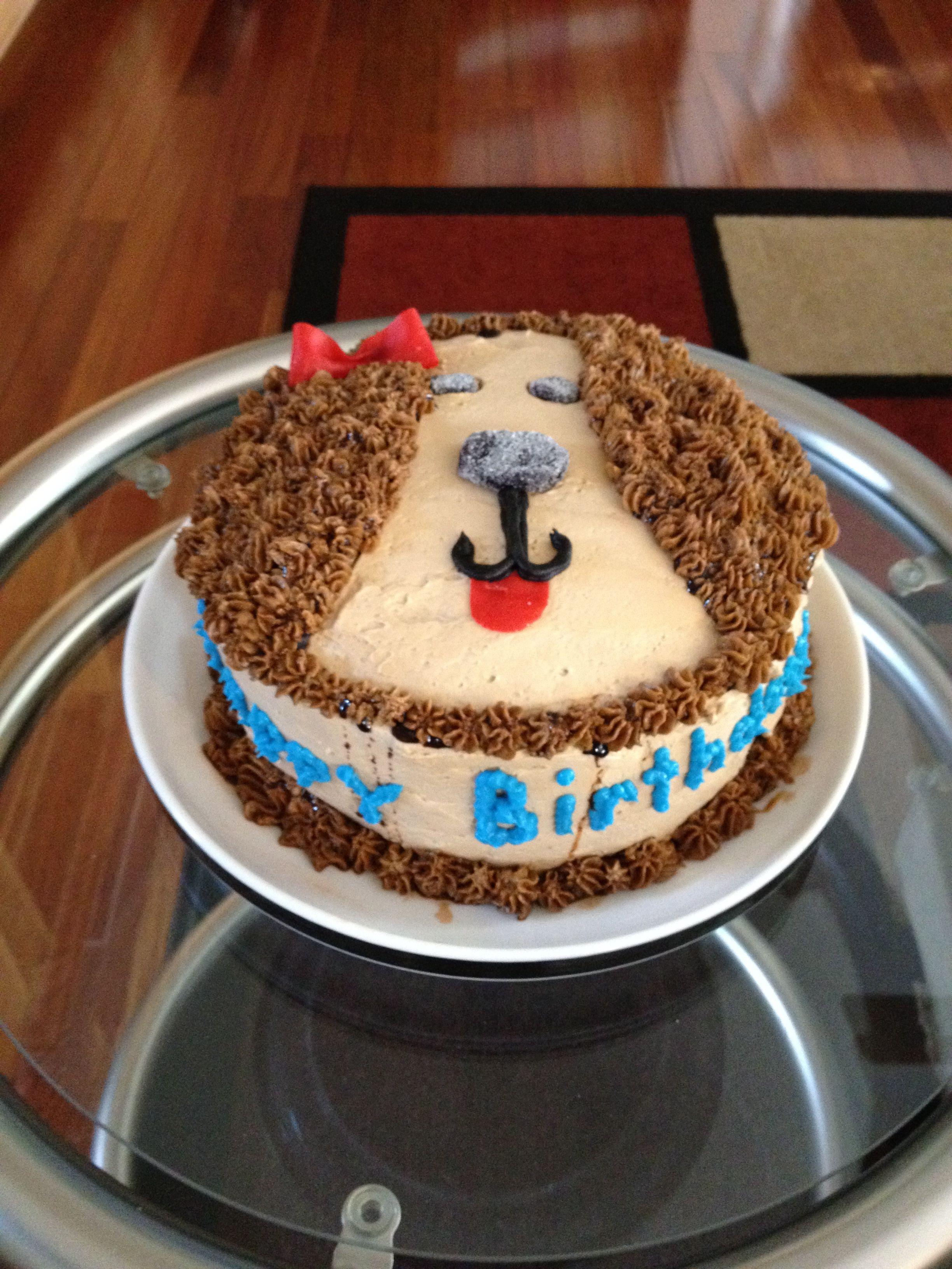 Puppy theme birthday cake childrenus parties and lollipops