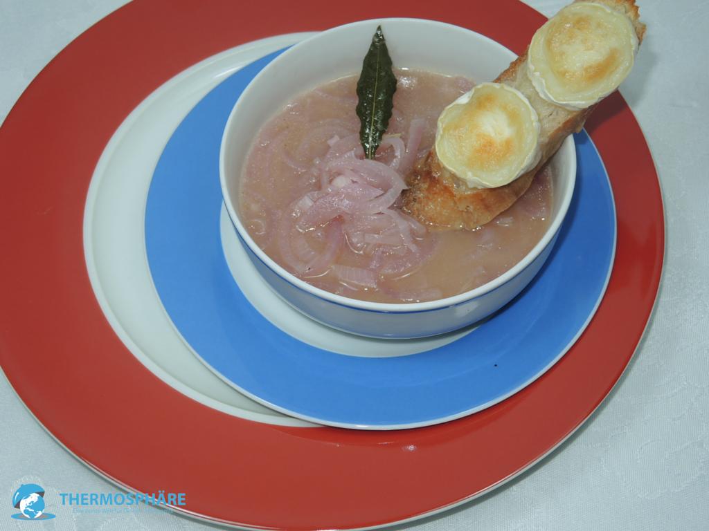 französische Zwiebelsuppe - Thermosphäre
