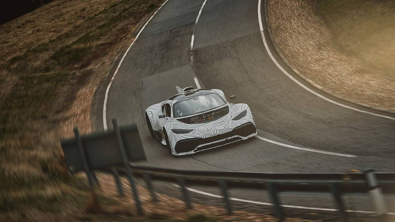 """AMG ONE Mercedes' Hypercar Quietly Drops """"Project"""" From"""