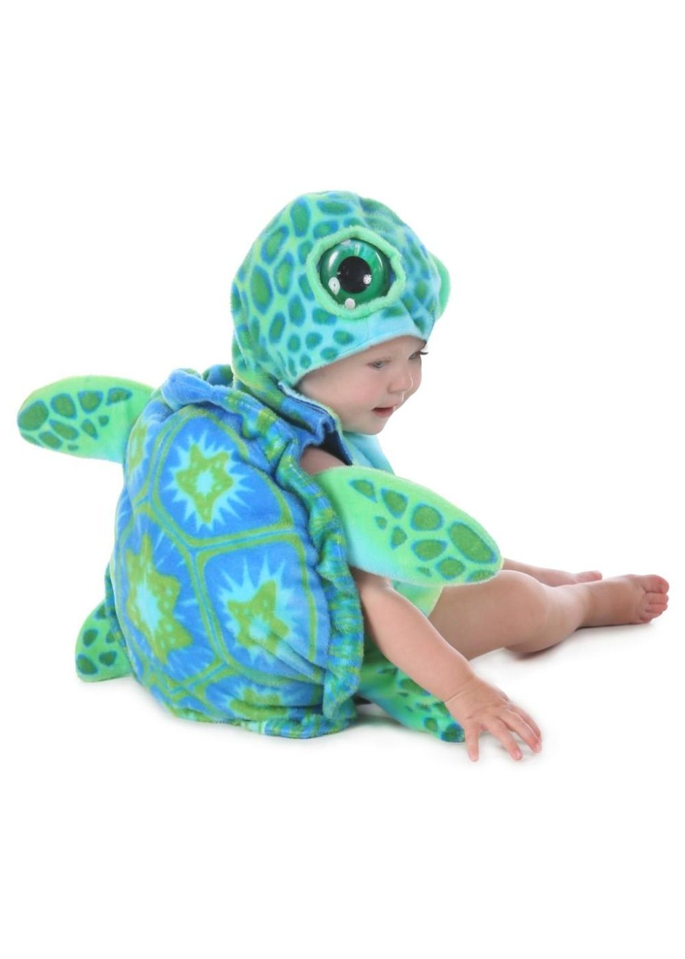Halloween Sea Turtle Costume All Over Toddler T Shirt