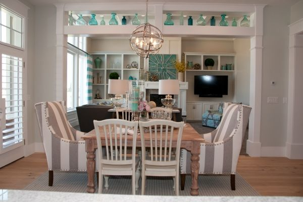 Dining Room  Striped Peony  Dining Rooms  Pinterest  Peony Enchanting 2014 Dining Room Colors Design Decoration