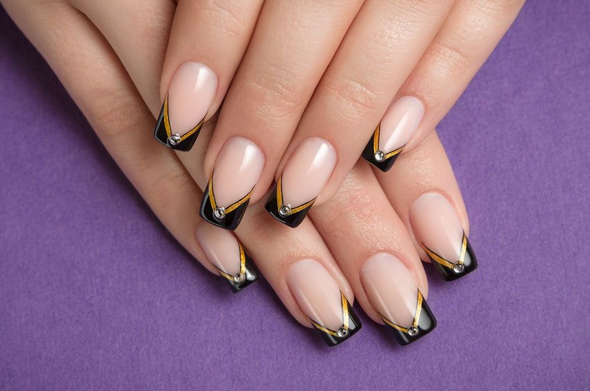 Shop By Category Ebay Simple Nail Art Designs Manicure Black Nail Designs