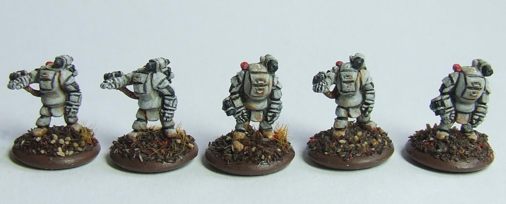 6mm Power Armour At Angel Barracks