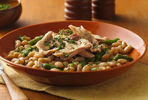 Slow Cooker Tuscan Turkey And Beans Recipe Healthy Slow