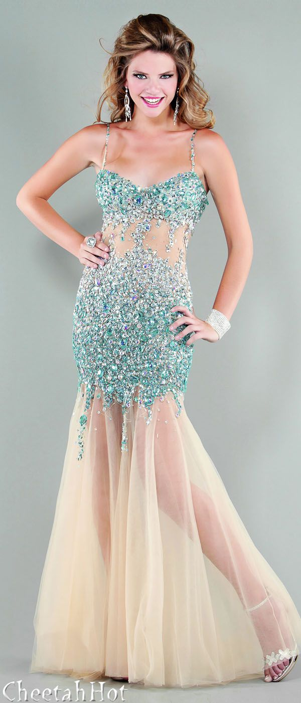 JOVANI - Pretty Turquoise Gown | Clothes for Gals | Pinterest ...